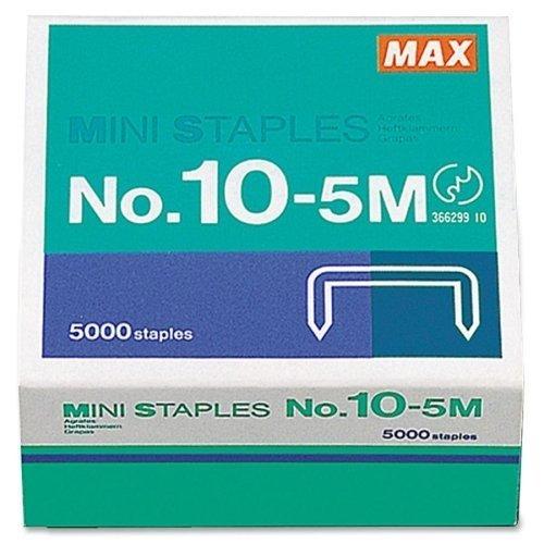 MAX HD-10DF Mini Staple - 0.19 Leg - 0.31 Crown by MAX Co. LTD Max Usa, Hd-10df Mini