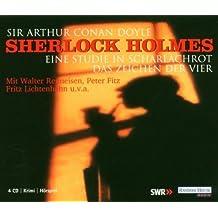 Sherlock Holmes, 4 Audio-CDs