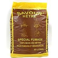 Savour'Hêtre - 7 kg de viruta de haya profesional para ahumar