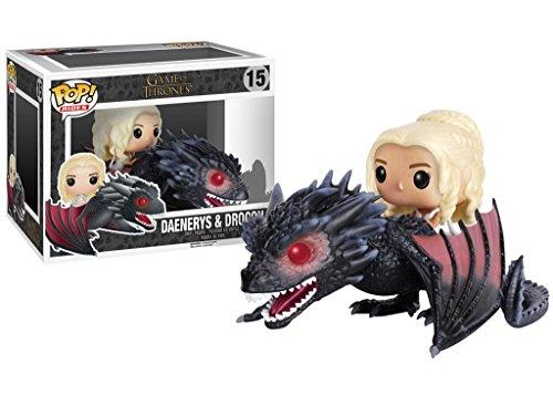 Funko 7235 Game of Thrones Pop Rides - Daenerys and Drogon #15 3