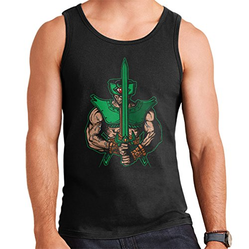 Evil Eye Tri Klops He Man Men's Vest Black