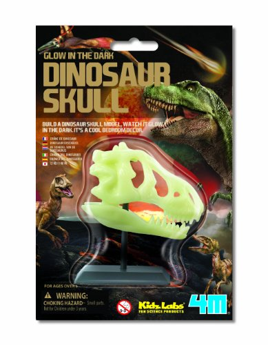 4 m Glow in The Dark Dinosaurier Totenkopf