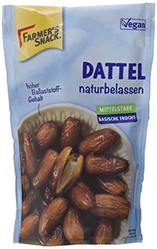Preisvergleich Produktbild Farmer's Snack Datteln,  5er Pack (5 x 200 g Beutel)