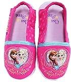 Disney Frozen Elsa Anna Little Girl's Indoor Heart Slippers Shoes