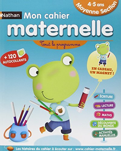 Mon cahier maternelle 4/5 ans by Nicole Herr (2013-04-20)