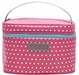 bébé-jou 310644 Beauty Case ABC, rosa/weiss/blau