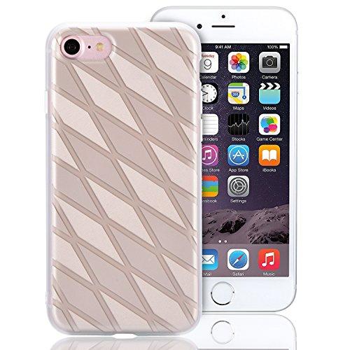 Cover per iPhone 6S, Custodia per iPhone 6, Sunroyal Creativo Cover Soft Morbida in Silicone Gel Gomma TPU Ultra Thin Slim con Bordo Protezione Fotocamera e Tappo Antipolvere per iPhone 6 6S (4.7 poll Modello 10
