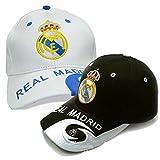 WEII Fußball-Fan-Hut Fußball-Verein Sonnenhut-Baseballmütze Sunhat,Real Madrid,Einheitsgröße