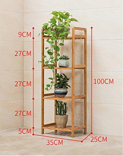 Stand De Fleurs Plancher, fleur, support, salon, multi - étages, bois, cadre, fleur, lit, cadre, pliant, fleur. (taille : Xl)