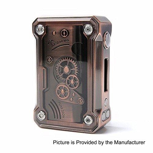Authentische Tesla Punk 220W Akkuträger Box Mod Farbe mit Unishow Pouch (Copper)