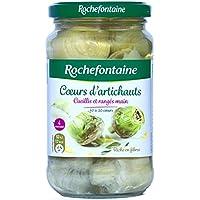Rochefontaine Coeur d'artichauts Le pot de 210g - Prix Unitaire - Livraison Gratuit Sous 3 Jours