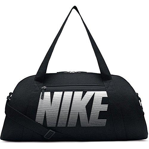 Nike Gym Club Trainingstasche, Black/White, 56 x 23 x 30.5 -