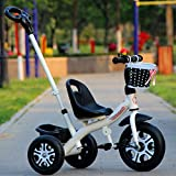 Best Baby Bike Strollers - TUJHGF Children's Tricycle 1-3-2-6 Years Old Large Ba Review