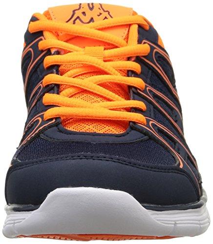 Kappa Ulaker, Herren Laufschuhe Blau (c19/navy Blue/orange)
