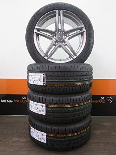 4 Sommerräder 18 Zoll passend für Mercedes-Benz Viano Vito W639 Sommerreifen RIAL M10 CONTINENTAL NEU
