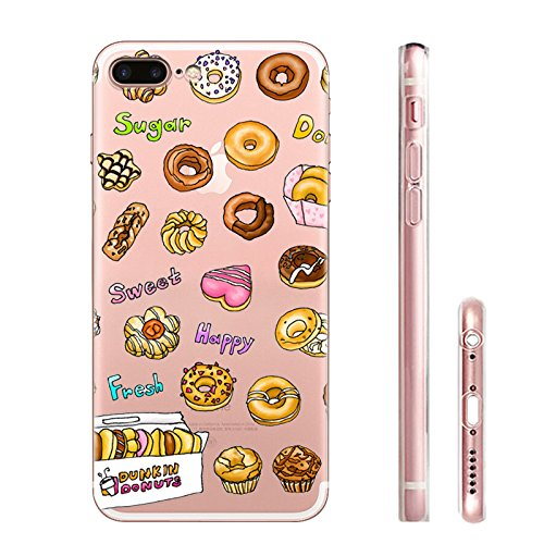 IPHONE 7 Hülle Meerjungfrau Ananas Liebe Muster TPU Silikon Schutzhülle Handyhülle Case - Klar Transparent Durchsichtig Clear Case für iPhone 7 hw25