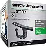 Rameder Attelage démontable avec Outil pour CITROËN C4 II + Faisceau 7 Broches...