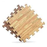 Angela-homestyle™ 9 tlg (30 cm x 30cm x 1cm)Schaumstoff Puzzlematte Bodenschutz-matte Spielteppich Spielen Kindermatte