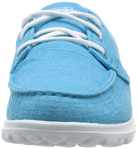Skechers Performance On-the-go Flagship Slip-on Boat Shoe Turquoise Mist