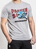 Paffen Sport 90'S Revival Athletic Fit T-Shirt für Freizeit und Sport im Revival-Look mit Boxhandschuh-Logo auf der Brust