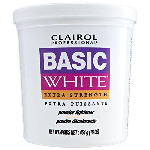 CLAIROL Professional Basic White Extra Strength Powder Lightener 1lb/454g by Clairol