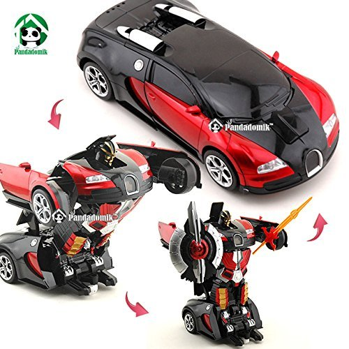 Generic Plastic Converting Car to Robot Transformer with