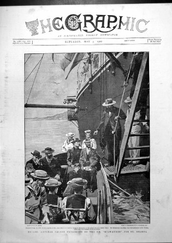 old-original-antique-victorian-print-exiled-gen-cronje-embarking-ss-milwaukee-for-st-helena-1900-132