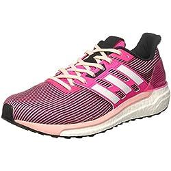 Adidas Supernova, Zapatillas de Running para Mujer, Rosa (Shock Pink/Footwear White/Core Black), 37 1/3 EU
