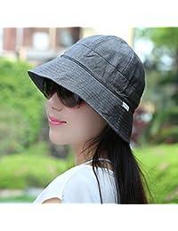 Mei XU Gorra versátil para protección Solar con Tapa Amplia y Plegable para  Mujeres 1fa5976a6bb