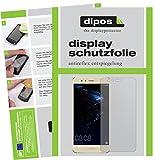 dipos I 2X Schutzfolie matt passend für Huawei P10 Lite Folie Bildschirmschutzfolie