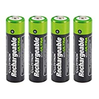 LLOYTRON NiMH Rechargeable AccuUltra Batteries AA Size 2700mAh 4 Pack - B1025