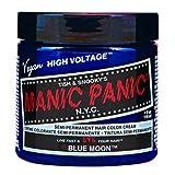 Manic Panic Semi-Permanent Color Cream Blue Moon by TISH & SNOOKY'S NYC,INC./MANICPANIC (English Manual)