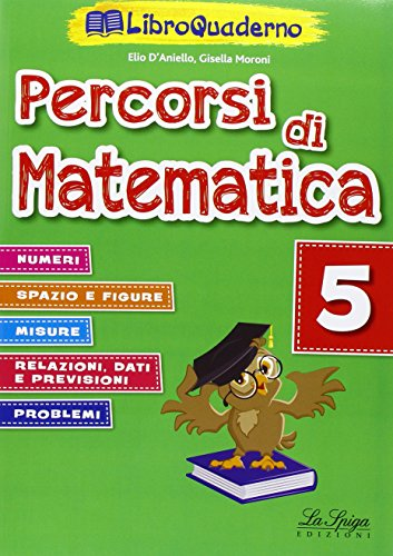 Percorsi di matematica. Per la Scuola elementare. Con CD-ROM: 5