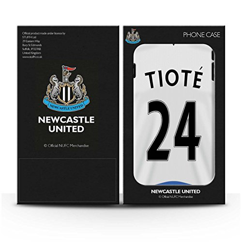 Offiziell Newcastle United FC Hülle / Case für Apple iPhone 4/4S / Pack 29pcs Muster / NUFC Trikot Home 15/16 Kollektion Tioté