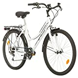 Probike 26 City ZOLL FAHRRAD 18-Gang urbane Cityräder For Heren, Damen, Unisex...