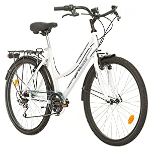 Probike 26 City ZOLL FAHRRAD 18-Gang urbane Cityräder For Heren, Damen,...