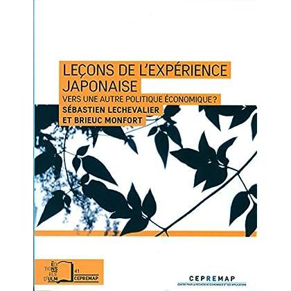 Leçons de l'expérience japonaise (collection du CEPREMAP n°41)