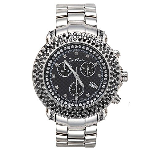 Joe Rodeo Diamant Homme Montre - JUNIOR argent 6 ctw