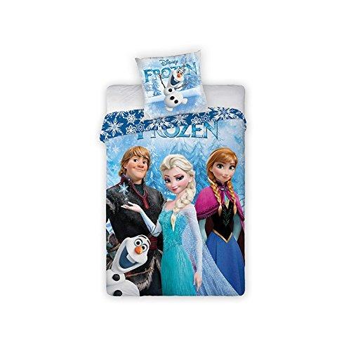 Parure di letto Disney Frozen-Copripiumino reversibile