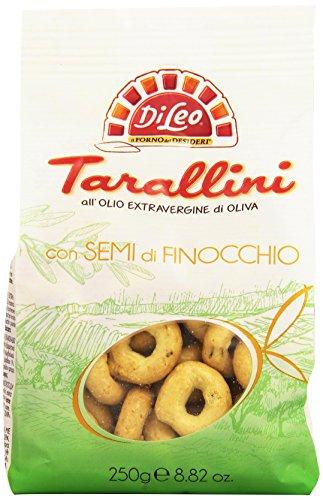 Di Leo Tarallini con Semi di Finocchio - 250 gr