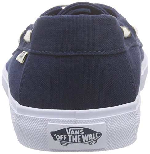 Vans Chauffette Sf - Scarpe da Ginnastica Basse Donna Blu (multi Stripe/dress Blues)