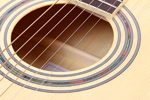 Lindo Guitars Master of Tone LDG-56CEQ - Chitarra acustica/elettrica con preamplificatore Fishman Presys e custodia