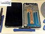 High-Q LCD-Touchscreen Digitizer für Alcatel One Touch Idol 3 (OT6045 6045 6045Y 6045F 6045K 14 cm (5,5 Zoll), inkl. Rahmen/Blende und Werkzeugset UK