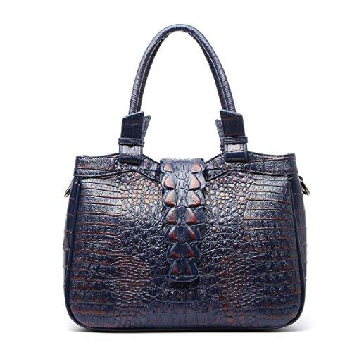 Dame Handbag Crocodile Muster Leder Handtasche Elegant Fashion Klassische Handtasche C