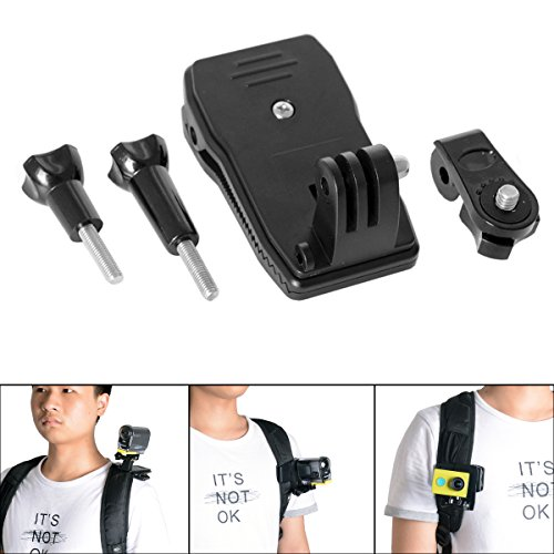 fantasealr-action-camera-clip-mount-360-degree-rotary-waterproof-rugged-camera-backpack-clamp-mount-