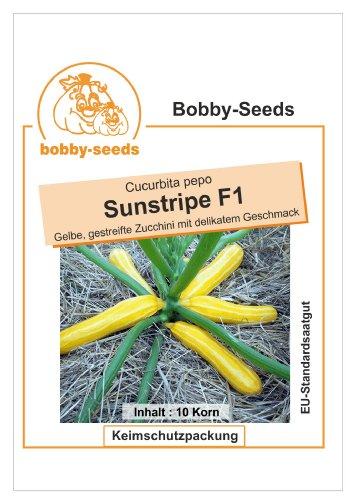 Bobby-Seeds Zucchinisamen Sunstripe F1 Portion