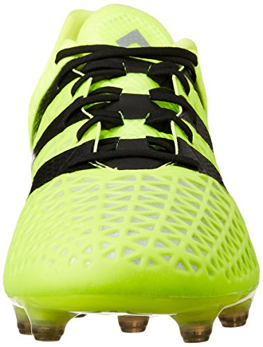 adidas Ace 16.1 FG, Chaussures de Football Entrainement Homme Jaune (Solar Yellow/Core Black/Silver Metallic)
