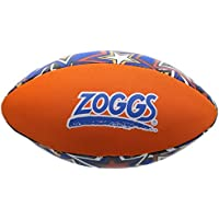 Zoggs Kid's Safe Neoprene Aqua Ball for All Ages - Orange/Blue with Star Print Pool Game