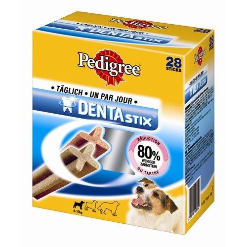 Pedigree DentaStix Snacks Multipack für junge und kleine Hunde (4-10kg), 4er Pack (4x440gr)