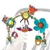 Tiny Love Arche d'activités Articulée Musicale Nature pour bébé , clips de fixation universels compatibles avec poussettes, nacelles et cosi, Dès la naissance, Collection Dans la Forêt